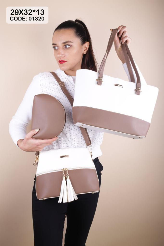 3 in 1 women bag (Two Color)